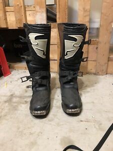 Thor dirt bike boots SIZE 13
