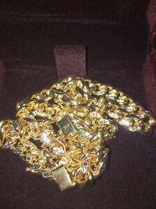 Solid Gold Cuban Chain