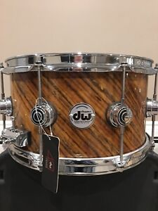 DW Twisted Olive Snare