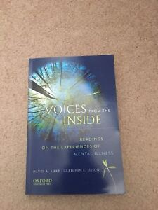 Voices from the Inside: Mental Health and Illness Textbook