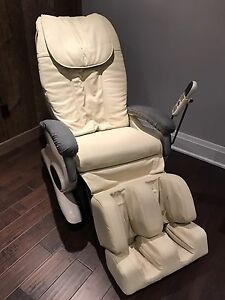 Electronic Leather Massage Chair