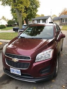 2014 Chevy trax LT with Bose stereo system