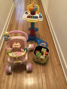 Lot de jouets (Fisher price / vtech) pour 10$