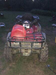 2003 Honda foreman 450 w/papers