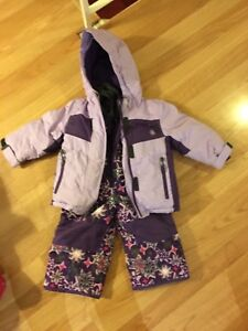 Kids winter coat and matching snow pants - size 2