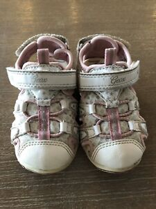 Geox girl sandals size 7