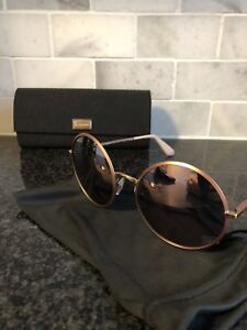 Rose gold dolce & Gabbana Sunglasses with case