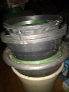 Gardening pots and starter trays 50+15
