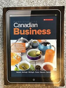 McMaster First Year Business Environment Organization Textbook
