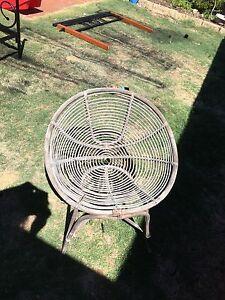 Small cane chair Secret Harbour Rockingham Area Preview