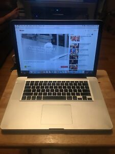 "Apple MACBOOK PRO 15"" late 2008 works perfect"