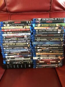 45 Blu-ray movies some 3D