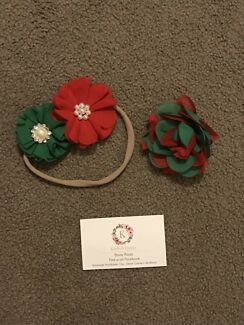 Christmas headband and clip