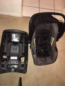 Baby Car seat with Base for sale!!