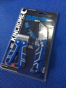 KINCROME Folding Safety Scrapper & Utility Knife Set Brunswick East Moreland Area Preview