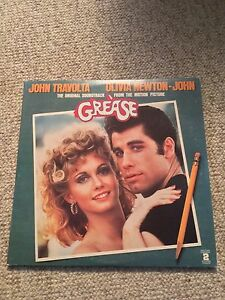 Grease soundtrack vinyl double lp