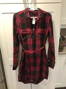 Gap woman's flannel dress