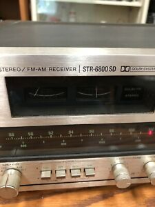 Sony STR-6800 SD receiver amplifier  great condition