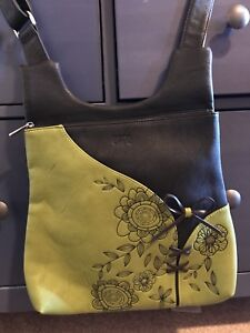 Espe soft leather, cross body purse in brand new condition