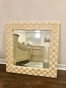 Bamboo mirror in mint condition
