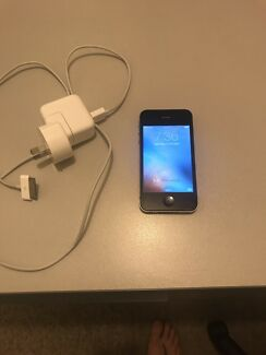 iPhone 4s and charger (Telstra locked)