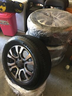 2017 Ford Ranger Wildtrak brand new wheels and tyres