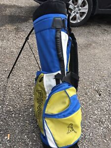 Ping Hoofer golf bag with stand