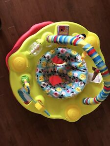Evenflo exersaucer 'baby active  & Graco Winnie The Pooh swing