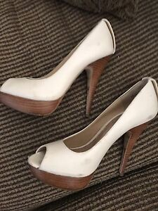 Size 37 cream Aldo brand shoes