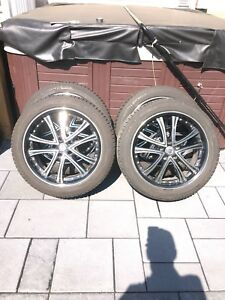Mags avec pneus d'hiver Michelin X-Ice