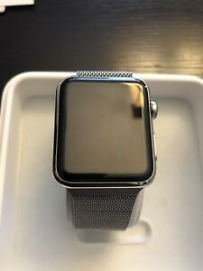 Apple watch série 1 42mm stainless