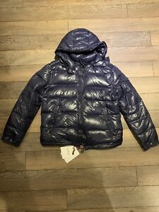 Slightly Used Moncler Maya Size 3 Navy (Negotiable)