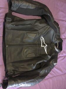 Alpinestars 2 piece leather suit