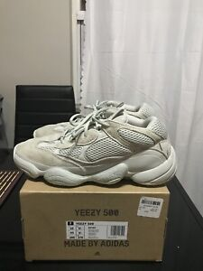 "YEEZY BOOST 500 ""SALT"" size 10"