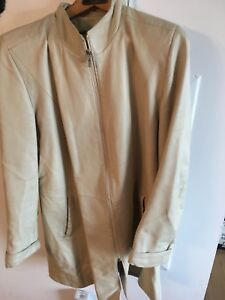 Manteau cuir Leather jacket