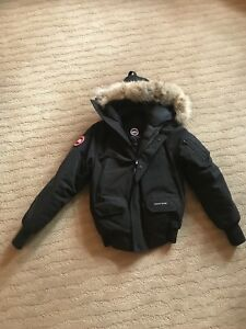 Authentic Kid's Canada Goose Jacket - Chilliwack Bomber/Size L