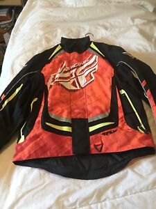 Fly racing sno x jacket for sale