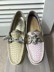 Authentic Original Sperry Top-Sider Leather Women Size 8 M