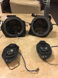 1997-2006 Jeep Tj Custom Speaker boxes. $500 OBO