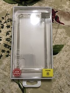 iPhone X/s clear case for salr