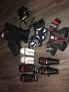 Boy/Girl hockey equipment