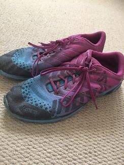 Inov8 f-lite 185 crossfit/running shoes size 10 womens