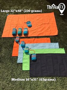 Pack Sport Towels YOGA CAMP GYM - BRAND NEW