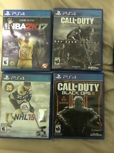PS4 games lot CHEAP