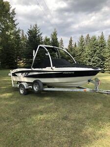 Bayliner BR185 with wakeboard tower