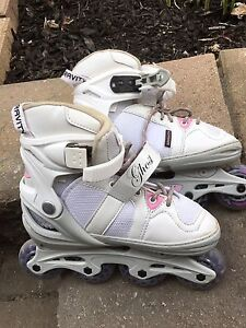 Girls roller blades - Adjustable for sizes 1-4 - Sold PPU