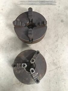 3 Jaw and 4 Jaw chucks for engine Lathe
