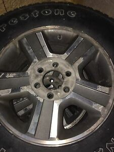17 inch rims off a 2005 f150