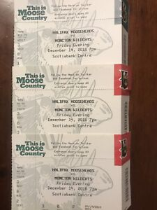Mooseheads Tickets Friday Dec 14th 7pm