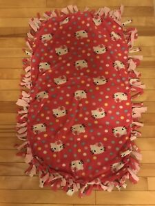 Hello Kitty lap size fleece blanket